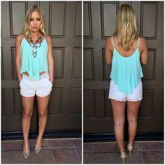 Beach Junkie Crochet Shorts - White
