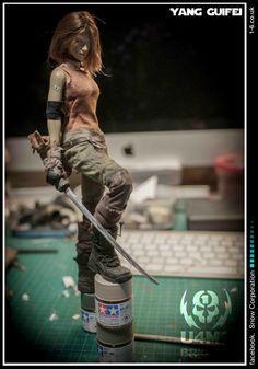U4M9 Brigade- finally Barbie has a look that isn't terrifying.