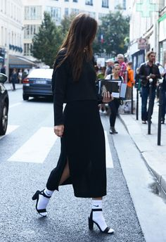 Spring '14 Milan Fashion Week Street-Style Photos by Tommy Ton