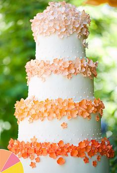 Summer Wedding Colors: Pink, Peach, Yellow
