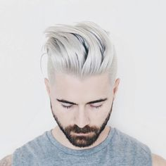 Graceful Silver hairstyles For Men to Have in 2016 0131