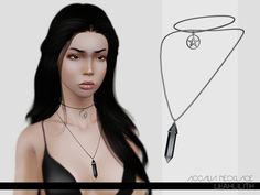 Accalia Necklace by Leah Lillith - Free Sims 3 Accessories Downloads The Sims Resource Custom Content Caboodle - Best Sims3 Updates and Finds