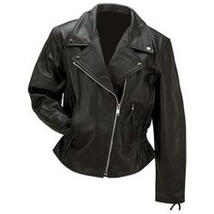 Rocky Mountain Hides™ Solid Genuine Buffalo Leather Ladies' Jacket $149.95