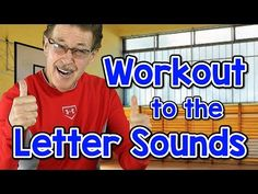 Workout to the letter sounds with Jack Hartmann in this alphabet recognition, letter sounds workout song. Build brain and body connections as you workout to . Letter Sound Song, Sound Words, Letter N Words, Just Dance Kids, Music For Kids, Yoga For Kids, Abc Learning Videos, Learning Sites, Educational Videos