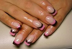 double french by Iryna from Nail Art Gallery