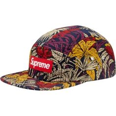 Supreme Leaves Camp Cap in Navy (Spring/Summer 2011)