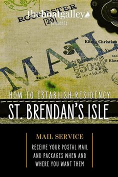 Step-by-step directions for changing your legal address to St. Brendan's Isle mail service in Green Cove Springs, Florida.