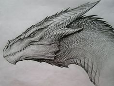 Dragon Sketch by TatianaMakeeva.deviantart.com on @DeviantArt