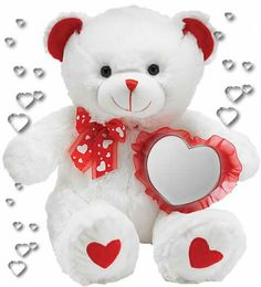 Cute Teddy Bear Pics, Teddy Bear Quotes, Teddy Bear Images, I Love You Pictures, Teddy Bear Gifts, Teddy Bear Pictures, Happy Valentines Day Images, Bear Valentines, Paper Flowers Craft
