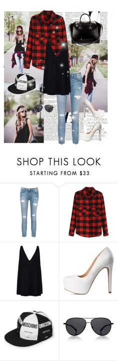 """...."" by abigaillieb ❤ liked on Polyvore featuring Current/Elliott, STELLA McCARTNEY, Charlotte Russe, Moschino, The Row, Givenchy, women's clothing, women, female and woman"