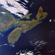 Nova Scotia - looks like a whale attached to Canada Nova Scotia, Pei Canada, Atlantic Canada, Cape Breton, Prince Edward Island, New Brunswick, Antique Maps, Newfoundland, Canada Travel