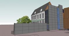 dUdA, Hotel d'udekem d'azov, monument, Sint-Pieterscollege Leuven, Minderbroederstraat, Leuvense Katholieke scholen aan de Dijle, restauratie, a33 architecten Leuven