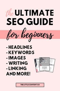 SEO the easy way: an SEO ebook for beginners. This ebook has everything you need to start writing kick-ass blog posts with killer SEO. Search engine optimization is super important for bloggers and businesses, especially beginner bloggers. This is a perfect SEO ebook to learn search engine optimization for beginners. Write better blog posts, learn what SEO is for blog posts, how to use keywords and images.  #blogging   #seo   #searchengineoptimization   #blog   #ebook