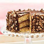 Heavenly Candy Bar Cake