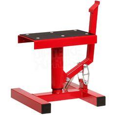 Race FX Single Pillar Bike Stand - Red