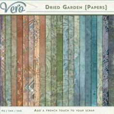 Digital Art :: Paper Packs :: Dried Garden [Papers]