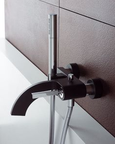 rubinetterie treemme cut tub filler Bathroom Faucet from Rubinetterie Treemme the new Cut Bathroom faucet