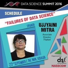 It's important to know about failures to succeed. So why wait attend data science summit-Data Science Summit 2016