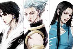 Hunter x Hunter - Chrollo, Hisoka, Illumi Hisoka, Killua, Hunter X Hunter, Hunter Anime, Girls Anime, Anime Guys, Manga Anime, Anime Art, D Gray Man Anime