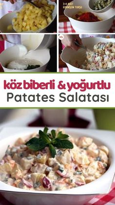 narration How to make a potato salad with a peppered yogurt recipe . Video narration How to make a potato salad with a peppered yogurt recipe . How To Make Potatoes, Beef And Potatoes, Yogurt Recipes, Salad Recipes, Dessert Recipes, Homemade Recipe Books, Perfect Salad Recipe, Skewer Appetizers, Ambrosia Salad