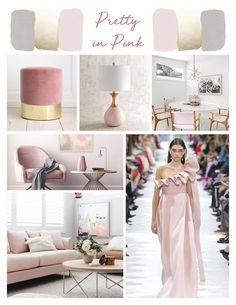 Pretty in Pink Fashion and Home Decor Interior Decorating, Interior Design, Home Staging, Pink Fashion, Home Organization, Pretty In Pink, Formal Dresses, Home Decor, Nest Design