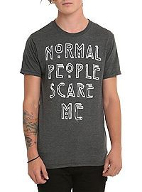 HOTTOPIC.COM - American Horror Story Normal People Scare Me T-Shirt