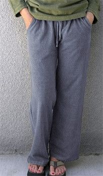 Summer Hemp Pants! Works for Yoga, and general wear. For loungers, and fantasy loungers who don't have time to lounge. Comfort you've never experienced with fleece. Remarkable comfort. In soft ,flowin