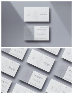 Minimal & Clean Business Card template is perfect for you who currently creating your own brand identity. Also, It is suitable for any kind of business. The minimal look of this template will make it stay in trend for such a long run. Minimalist Business Cards, Modern Business Cards, Business Card Design, Minimal Graphic Design, Cleaning Business Cards, Calling Cards, Name Cards, Print Templates, Business Branding