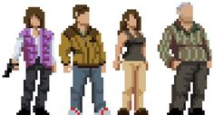 Telltale's Walking Dead Characters part two. Checkout part onehere