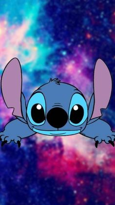 lilo and stitch Cartoon Wallpaper Iphone, Disney Phone Wallpaper, Cute Cartoon Wallpapers, Galaxy Wallpaper, Lelo And Stitch, Lilo Et Stitch, Disney Drawings, Cute Drawings, Stitch Et Angel