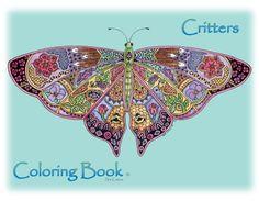 Polar Critters Coloring Book Sue Coccia Amazon Com