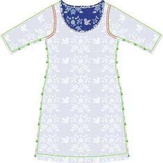 Jewellery For Lady - Dress Sewing Patterns, Clothing Patterns, Pattern Sewing, Diy Fashion, Fashion Dresses, Fashion Design, Fanni Stitch, Robe Diy, Diy Clothes