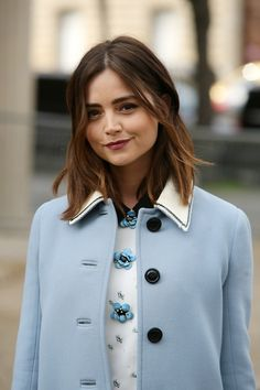 Jenna Coleman Paris Fashion Week