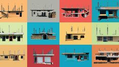 """The typology of the Galapagos Island hangs somewhere between construction and dismantling. Each of these structures, which we have tended to in our own cities from pre-TOKİ period, are turning into memories in Joseph Kennedy's photographs.  These structures, documented by Joseph Kennedy in the series """"permanently unfinished"""" from the Oslo School of Architecture and Design, show an optimistic view of growth as well as the traces of the urban decay process when they come together."""