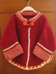 Resultado de imagen para ponchos tejidos a crochet para niña