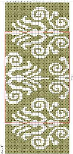 teltekening voor omslagdoek, via een Russische site