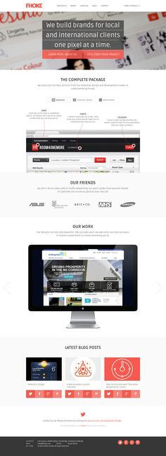 Web Design Andover, Hampshire from Website Design Agency FHOKE