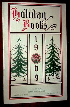 Holiday Books from Jones Book Store in Los Angeles - 1909
