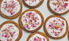 Crisp and Chewy Cardamom-Rose Gingersnaps