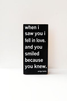 When I Saw You, I Fell In Love, Wooden Art, Wooden Sign, Wedding Gift, Anniversary Gift, Wedding Decor, Home Decor, Pick Your Colors