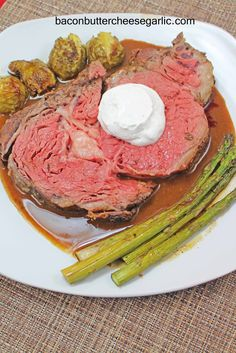 Perfect Prime Rib from Bacon, Butter, Cheese & Garlic: Perfection