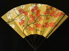 Hand Painted Folding Fan