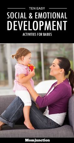 Social & Emotional Development Activities For Babies: Has your little one arrived in your life already? Or are you waiting for that big day and planning ahead already? Do you wonder how you can help your little one be strong, both emotionally and socially?Here are ten simple and effective #activities you can do with your infant on a daily basis