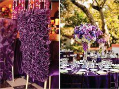purple wedding #wedding #decoration