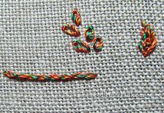 Silk Gimp from Pipers Silks via Needle 'N Thread