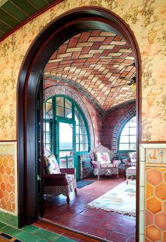 The Tile House, as the locals call it, is a Moorish folly in Bay Shore, N.Y., built by Rafael Guastavino Jr., who with his father, Rafael Guastavino Sr.,   developed the tile vaulting system used in Grand Central Terminal's Oyster Bar, the Whispering Gallery outside it, and other iconic spaces, like the Cathedral of St. John the Divine and Carnegie Hall. Guastavino built this house when he was working on Grand Central.