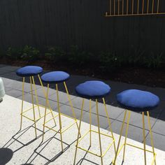 Restored stools. Don't know where they will go yet!
