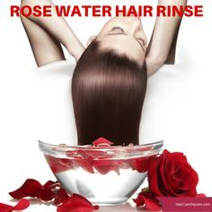 You know its rose water when the smell of fresh roses wafts through the air and not just that, it charms you with its nourishing goodness. Rose Water Hair, Rose Hair, Hair Mask For Damaged Hair, Damaged Hair Repair, Homemade Rose Water, Homemade Hair, Best Diy Hair Mask, Parting Hair, Hair Rinse