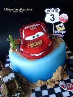 Cars cake  Cake by SogniDiZucchero