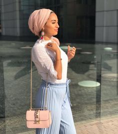Discover recipes, home ideas, style inspiration and other ideas to try. Turban Mode, Hijab Turban Style, Turban Outfit, Hijab Chic, Hijab Outfit, Muslim Fashion, Modest Fashion, Fashion Outfits, Modest Dresses